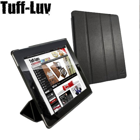 Tuff-Luv Smart-er Cover With Armour Shell For iPad 2 - Black