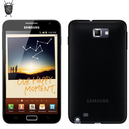Coque Samsung Galaxy Note - FlexiShield - Noire