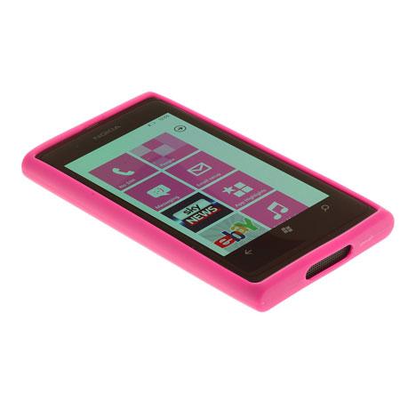 Nokia CP-019N Nokia Lumia 800 TPU Case - Pink