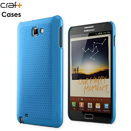 Craft Cases UltraSlim Pattern Shell for Samsung Galaxy Note - Blue