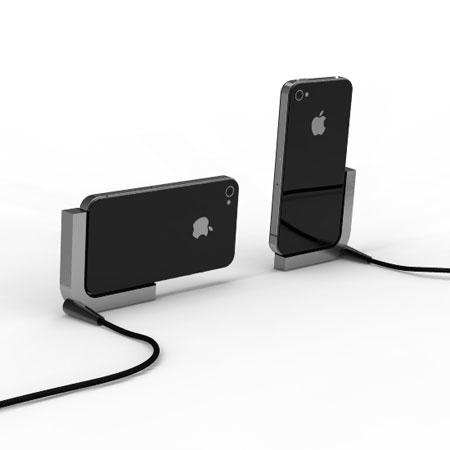 osun metal dock for iphone 4s 4. Black Bedroom Furniture Sets. Home Design Ideas