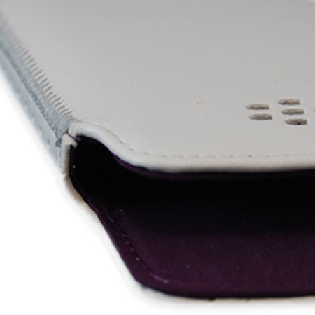 BlackBerry Bold 9790 Pocket White w/Royal Purple Liner