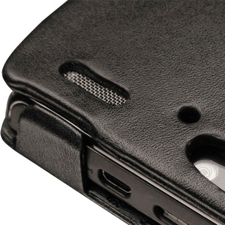 Noreve Tradition A Leather Case for Sony Ericsson XPERIA Arc - Black