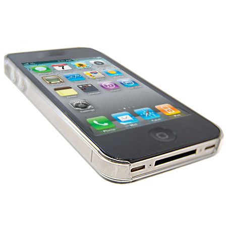Power Support Jacket For iPhone 4S - Clear