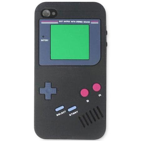 Retro Game Boy Case for iPhone 4S - Black