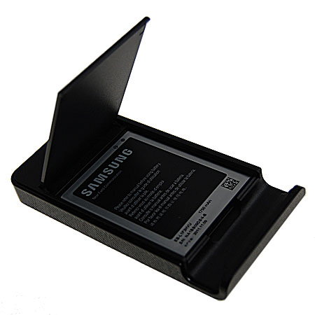 Samsung Galaxy Nexus Holder And Battery Charger - EBH-1F2SBECSTD