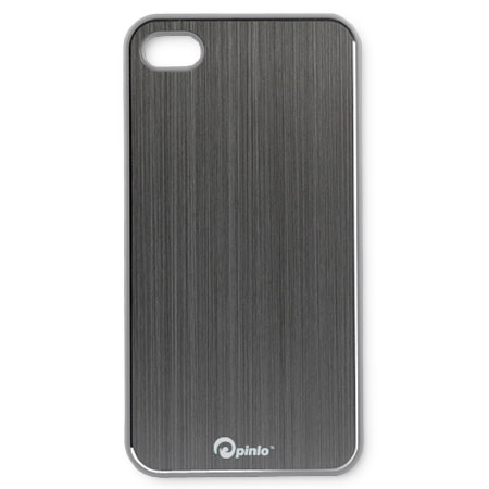 Coque iPhone 4S / 4 Pinlo Concize Metal - Grise