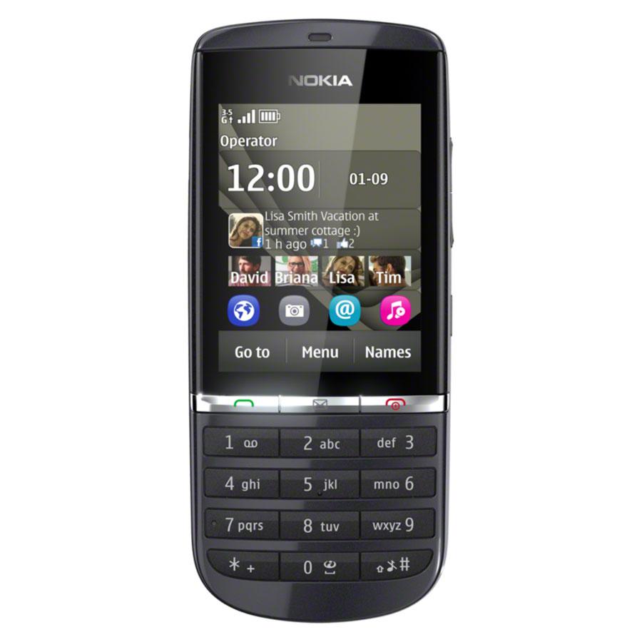 Sim Free Nokia Asha 300 - Grey