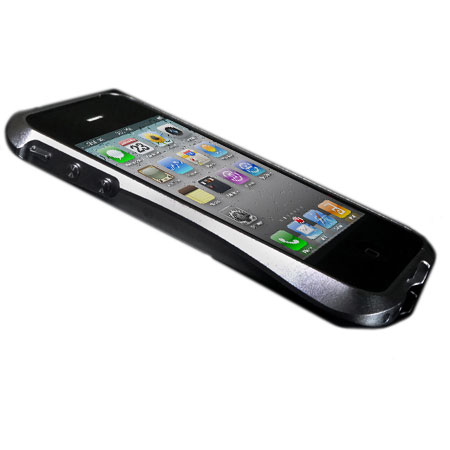 san francisco e7e90 fa93e Draco IV Design Aluminium Bumper for the iPhone 4S / 4 - Silver