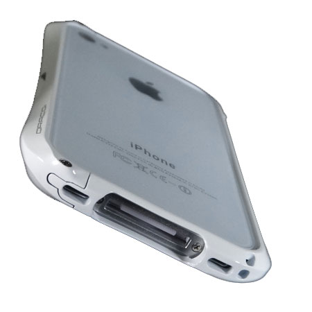 promo code 696dc 10487 Draco Limited Edition Aluminium Bumper for the iPhone 4S / 4 - White