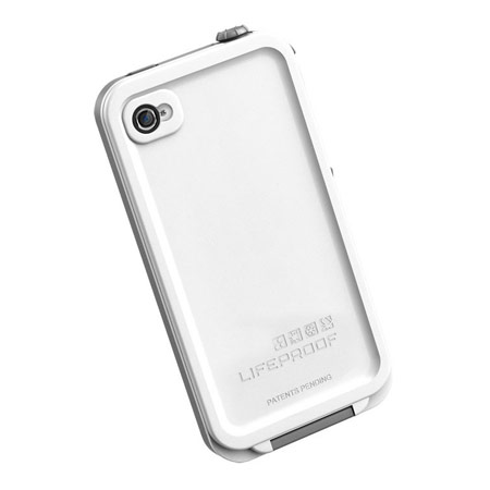 LifeProof Indestructible Case For iPhone 4S / 4 - White