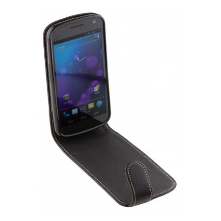 Pro-Tec Executive Leather Flip Case for Samsung Galaxy Nexus