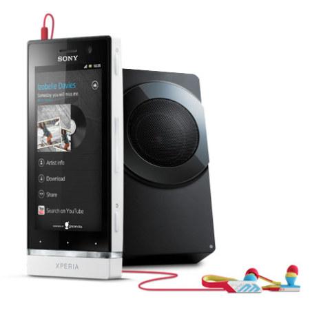 Sim Free Sony Xperia U - Black