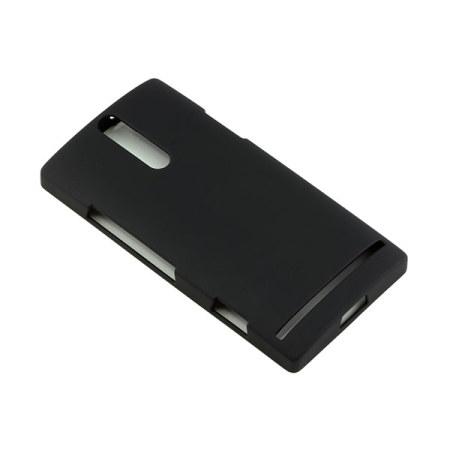 Funda Rígida Sony Xperia S SMA6118BL - Negra