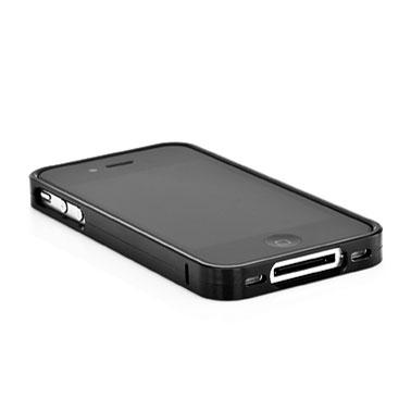 Bumper iPhone 4S / 4 Capdase Alumor - Negro