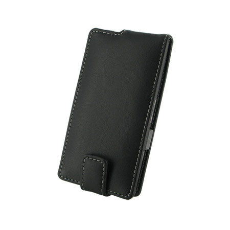 PDair Leather Flip Case - Sony Xperia S