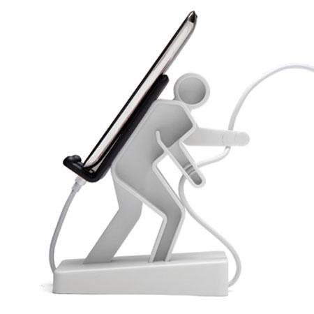 Monkey Business Boris Universal Phone Stand White