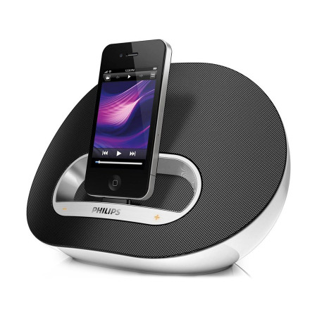 philips ds3100 05 lautsprecher dock f r iphone und ipod. Black Bedroom Furniture Sets. Home Design Ideas