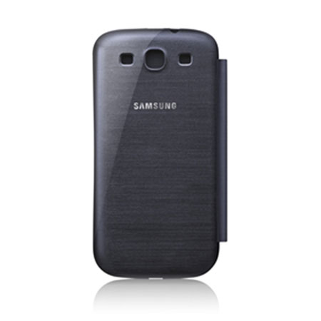 Genuine Samsung Galaxy S3 Flip Cover - Chrome Blue- EFC-1G6FBECSTD
