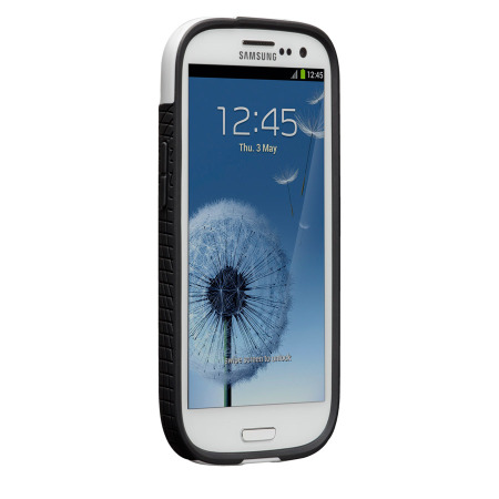 Case-Mate Pop for Samsung Galaxy S3 i9300 - White / Black