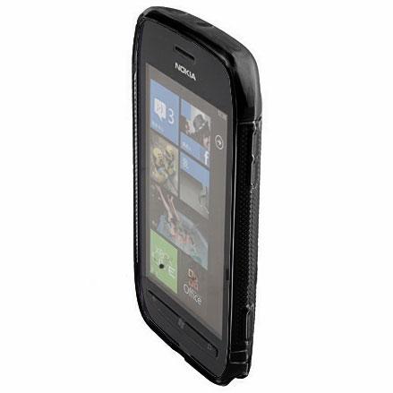FlexiShield Wave Case For Nokia Lumia 710 - Black