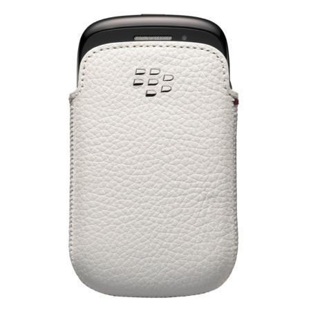 BlackBerry Curve 9320 Leather Pocket - ACC-48097-202 - White