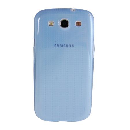 Genuine Samsung S3 Slim Case - Blue - EFC-1G6SBEC - Twin Pack