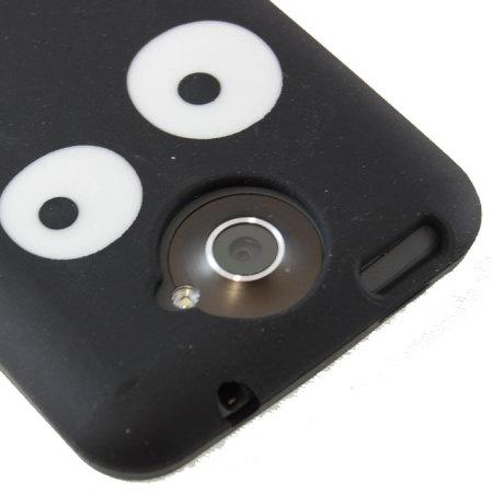 Funda Silicona para HTC One X - Ojos
