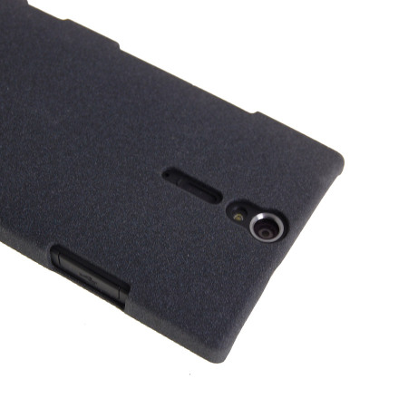 Metal-Slim Graphite Protective Case for Sony Xperia S