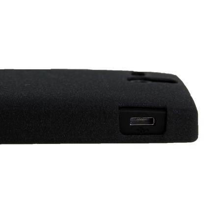 Coque Sony Xperia U Metal-Slim Graphite Style - Noire