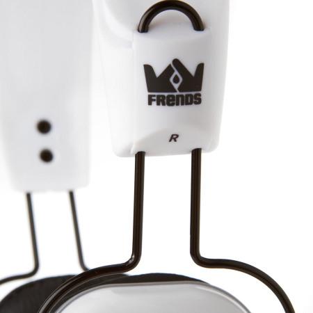 Frends The LightWire Headphones - Snowtrooper White