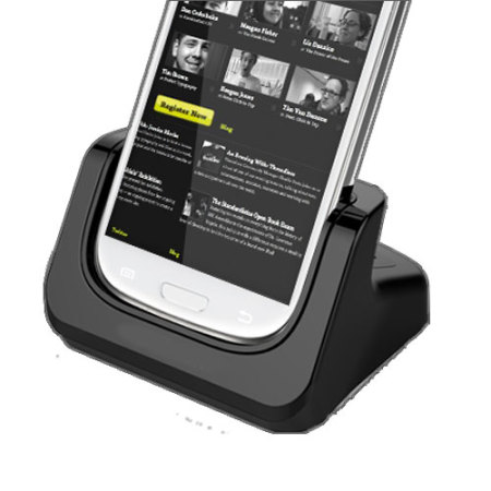 Samsung Galaxy S3 Case Compatible Dual Charging Dock