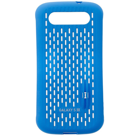 Official Samsung Galaxy S3 Mesh Vent Case - Blue
