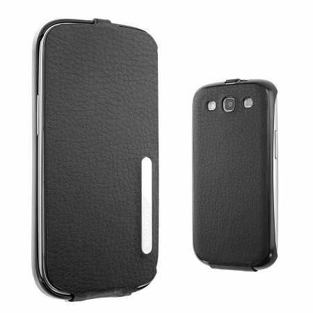 Official Samsung Galaxy S3 Flip Case - Black