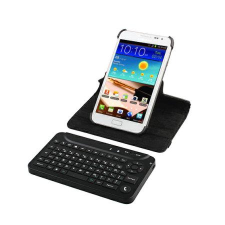 uk availability c7565 1cb63 Mini Bluetooth Keyboard Case - Samsung Galaxy Note