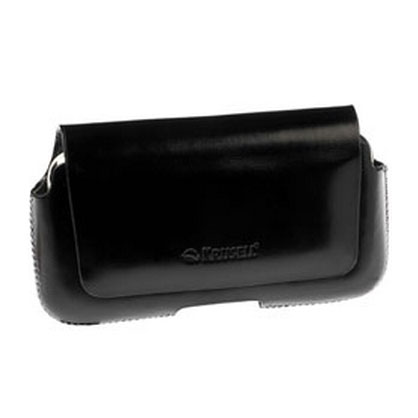 krusell hector 4xl leather pouch case black