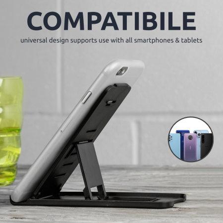 olixar portable multi angle smartphone desk stand called