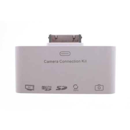 ekit camera/tv/memory card connection kit all ipads and