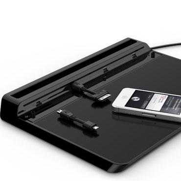 Universell laddstation för Smartphones / Tabletter