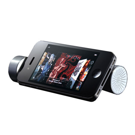 X-Power 3 in 1 Speaker, Emergency Battery and Stand - Silver