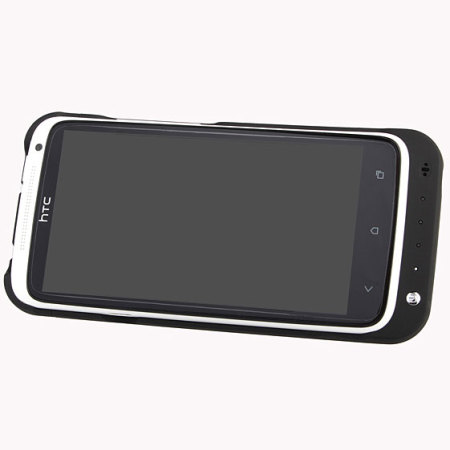 Power Jacket Case 2200mAh for HTC One X - Black