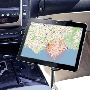supporto auto universale per tablet floor arkon tab fsm. Black Bedroom Furniture Sets. Home Design Ideas