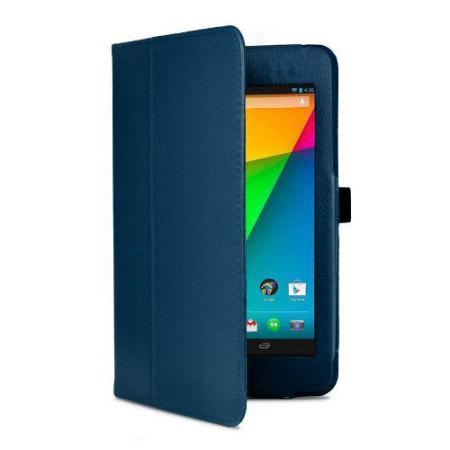 Adarga Folio Stand Google Nexus 7 Case - Blue