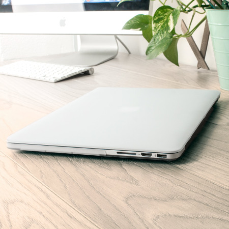 Olixar ToughGuard MacBook Pro 15 inch with Retina Hard Case - Clear