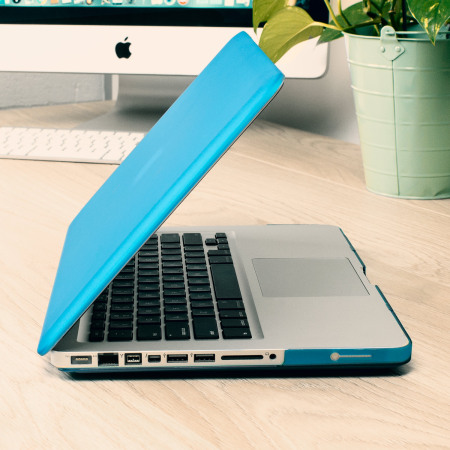 Olixar ToughGuard MacBook Pro 13 inch Hard Case - Blue