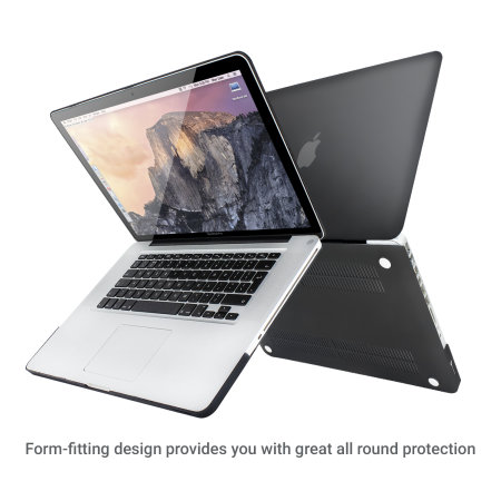 Olixar ToughGuard MacBook Pro 15 inch Hard Case - Black