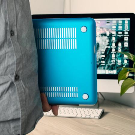 Olixar ToughGuard MacBook Pro 15 inch Hard Case - Light Blue