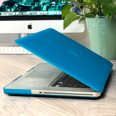 Olixar ToughGuard MacBook Pro 15 inch Hard Case - Light Blue
