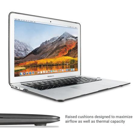 E-Reader olixar toughguard macbook air 13 inch hard case black Minerva himayatnagar