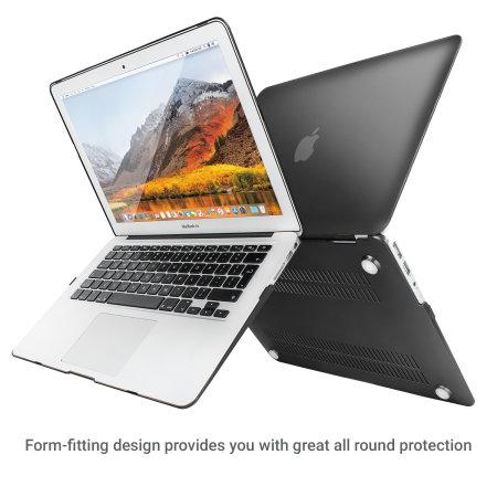 olixar toughguard macbook air 13 inch hard case black checking online